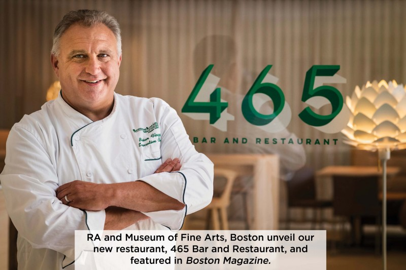 465 Bar and Restaurant at MFA Boston is  Now Open