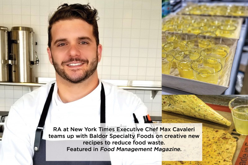 Chef Max Cavaleri Teams Up with Baldor Specialty Foods